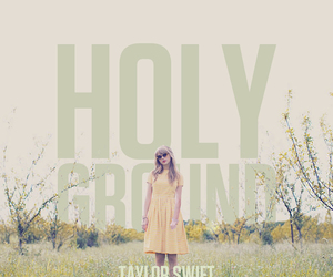 Taylor Swift, holy ground, and red image