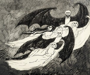 book, edward gorey, and ghosts image