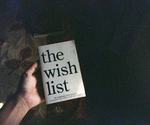 book, wish, and vintage image