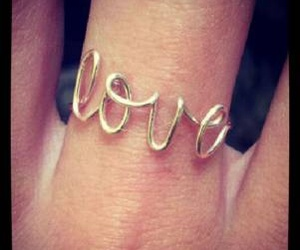 ring, love, and text image