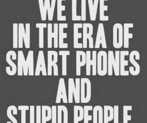 people, quote, and stupid image