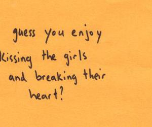girl, quote, and heart image