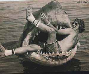 creepy, jaws, and movie image