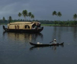 houseboat, kerala backwaters, and kerala tour image
