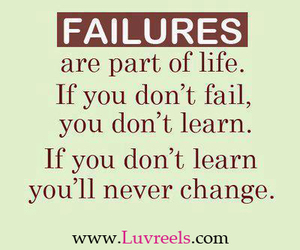 failure, quotes, and change image