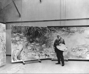 monet, claude monet, and painting image