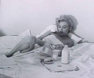 breakfast, Marilyn Monroe, and morning image