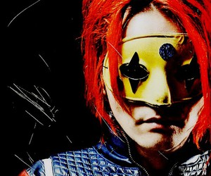 gerard way, mask, and my chemical romance image