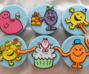cupcake and mr men and little miss image