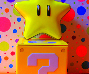 colorful and mario image