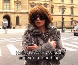 Anna Wintour, fashion, and vogue image