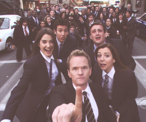 how i met your mother and how i meet your mother image