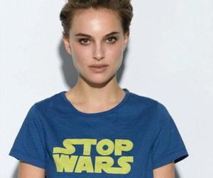 natalie portman, star wars, and stop wars image