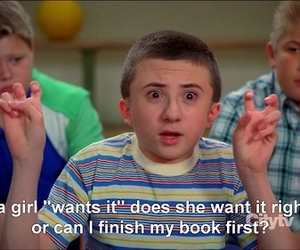 book, funny, and girl image