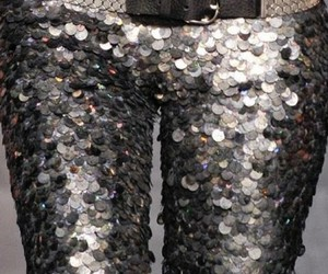 fashion, sequins, and model image