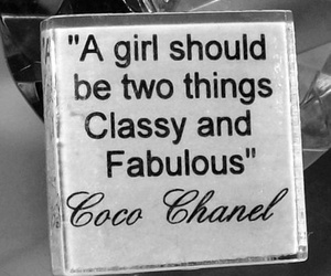 girl, coco chanel, and classy image