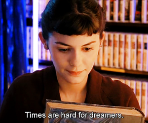 dreamer, amelie poulain, and quote image