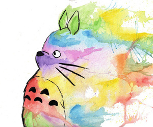 totoro, anime, and art image