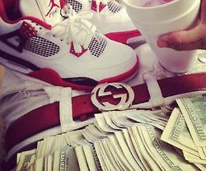gucci, swag, and money image