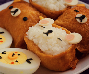 food, rilakkuma, and kawaii image