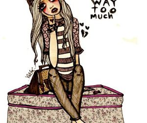 girl, valfre, and love image
