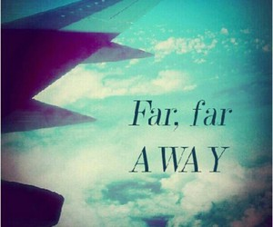 Dream, plane, and quote image