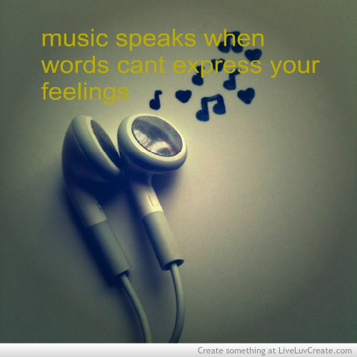 Music Speaks discovered by LiveLuvCreate on We Heart It