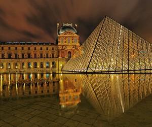 <3, france, and louvre image