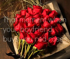 boyfriend, lovely, and red image