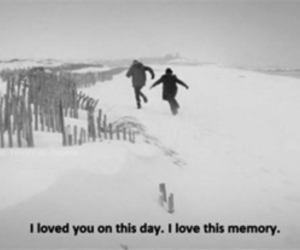 love, memories, and quote image