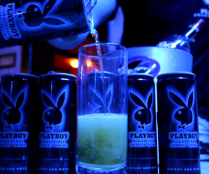 drink, party, and Playboy image