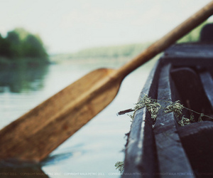 boat, photography, and water image