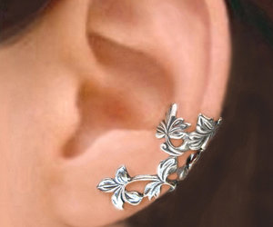 jewelry, earrings, and silver image