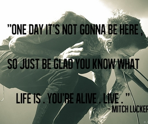 mitch lucker, suicide silence, and rip image