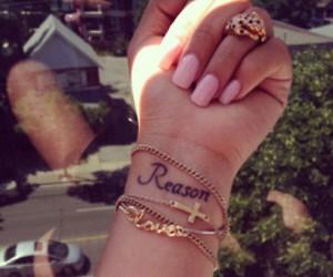 tattoo, nails, and reason image