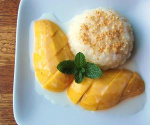 food, mango, and sweet image