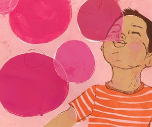bubbles and illustration image