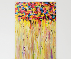 Abstract Painting, beautiful, and bold colors image