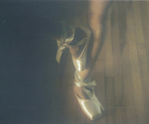 ballerina, girl, and shoes image