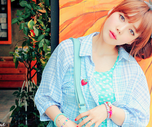 asian, girl, and park hye min image