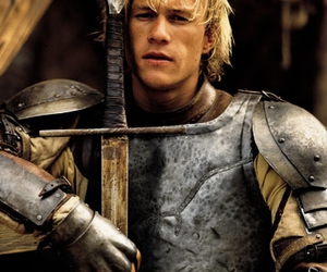 heath ledger, movie, and a knight's tale image