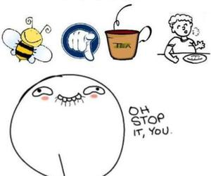 funny, you, and bee image