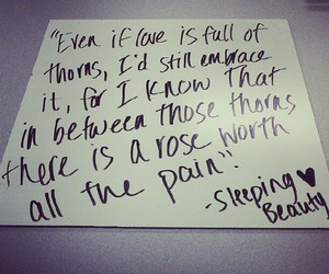 fairytale, handwriting, and pain image