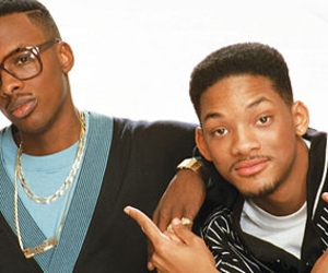 fresh prince of bel-air, will smith, and jazzy jeff image