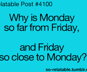 friday and monday image