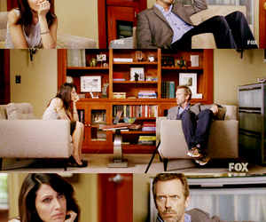 cuddy, Dr. House, and house image
