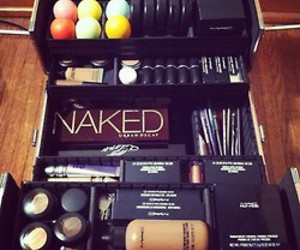 box, make up, and naked image