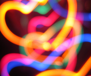hearts and light image