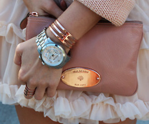 fashion, watch, and bag image