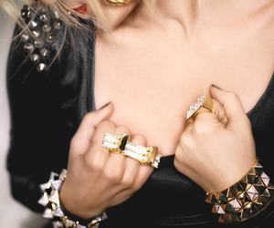 fashion, rings, and studs image